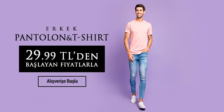 Erkek Pantolon & T-Shirtler